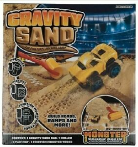 Gravity Sand Dump Truck Set Sand Roller Clay Mat Rriction Monster Truck