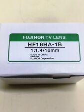 **NEW** Fujinon HF16HA-1B , 16MM 1:1.4 TV Lens
