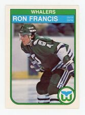 1982-83 O-Pee-Chee Ron Francis RC #123 Rookie OPC Hartford Whalers