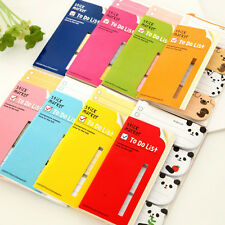To Do List Sticker Bookmark Marker Memo Flags Index Tab Sticky 12.4*7 cm Notes
