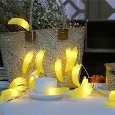 Último Novedad Guirnalda Luces LED Luz 3M 20leds de Pilas Fiestas Fruta Plátano