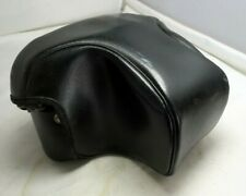 Black Leather Camera Case Vintage Taiwan No 8 5228005