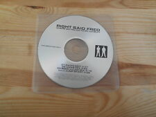CD Pop Right Said Fred - Where Do You Go (4 Song) Promo