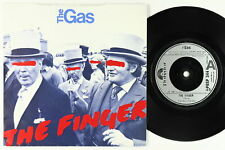 Punk Power Pop 45 - The Gas - The Finger - Polydor UK - VG++ mp3