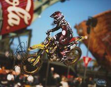 Ryan Dungey Signed Autograph 8X10 Photo Motocross Champ Psa Ktm