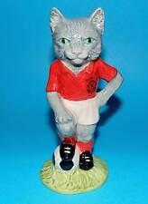 Beswick figurine ornament Football  cat ' Kitcat ' FF3 1st Quality L/ED BOX+CERT