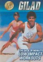 GILAD - 60 & 30 MIN LOW IMPACT WORKOUTS NEW DVD
