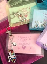Best Friend Magical Unicorn Keyring In Gift Bag Cute Unique Party Bag Filler