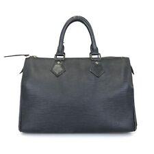 100% authentic Louis Vuitton Speedy 25 Epi handbags M59032 Used 112-5-zb