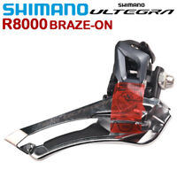 Shimano Ultegra R8000 Front Derailleur 2x11Speed Bike Bicycle Brazed On Clamp On