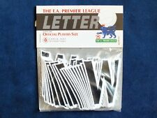 Original Lextra 1997-2006 EPL 20 Pack x Player Issue Size Black Shirt Letter 'W'