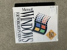 Microsoft Windows For Workgroups 3.11 - Retail Sealed - New Old Stock