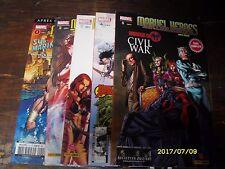 Lot Marvel heroes HS V2 Marvel France