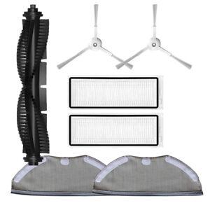 HEPA Filter Roll Main/Side Brush Mop Cloth For Qihoo 360 S9 X90 Vacuum Cleaner