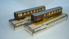 WRENN W6000/W6001 PAIR OF B.R.BROWN PULLMAN  CAR 77/73  BOXED NR MINT CONDITON B