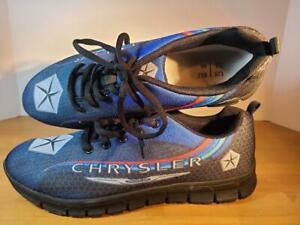 Men's Sz 12 CHRYSLER Automotive Lightweight Athletic Shoes Sneakers Advertising