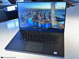 "Dell XPS 9560 15.6"" Laptop Intel i7-7700HQ 2.80GHz 8GB RAM 256GB SSD GTX 1050"