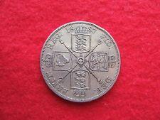 1887   QUEEN  VICTORIA    SILVER  DOUBLE FLORIN  COIN  (  VERY GOOD GRADE )