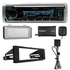 Marine Bluetooth Radio, Harley Stereo Install Kit, SiriusXM Tuner, Weathershield