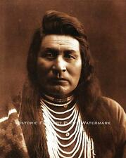 NEZ PERCE INDIAN CHIEF JOSEPH VINTAGE PHOTO  NATIVE AMERICAN OLD WEST #20649