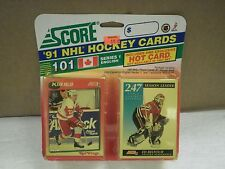 OLDER HOCKEY CARDS SCORE 1991- CANADIAN ENGLISH SERIES 1-GRAIG LUDWIG- NEW- L136