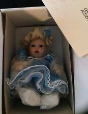 Marie Osmond Porcelain Doll Baby Miracles Tiny Tots New in Box # 6881 Necklace