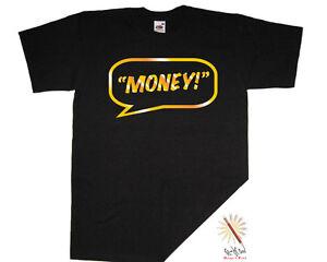 T-shirt STORAGE HUNTERS. Tarrell 'T-Money' Wright. GOLD Cult TV/Humour/Funny!