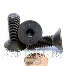 10mm x 1.50 x 30mm - Qty 10 - FLAT HEAD Socket Cap Screws Countersunk 12.9 M10
