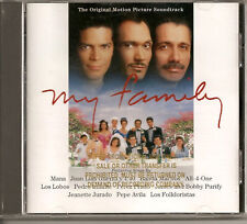 My Family Movie Soundtrack CD Promo Copy Like New NM