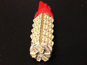 Fits Benz Red BRIGHT 912 LED High Mount Cargo Spoiler Third Brake Light Bulb NOS