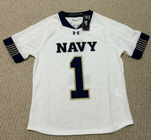 Naval Academy Lacrosse Jersey NWT Medium White Under Armour