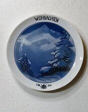 """Rosenthal Porzellan Teller Weihnachtsteller """" Weihnachten 1926 """" Sammelteller"""