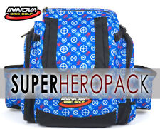 INNOVA SUPER HEROPACK BAG (HOLDS 25-30 DISCS) USA LOGO-PRINT INCLUDED: HEADER