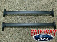 2001 thru 2007 Escape OEM Genuine Ford Black Roof Rack Cross Bar Set 2-piece NEW