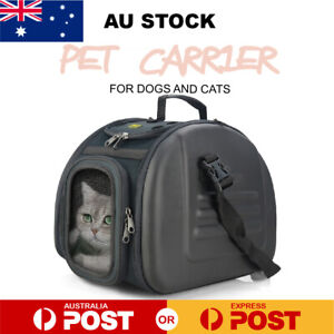 Pet Carrier Dog Cat Portable Backpack Tote Crate Kennel  Airline Pet Carrier