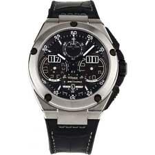 IWC Ingenieur Perpetual Calendar Auto 46mm Chrono Strap Mens Watch Iw3792-01