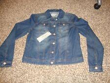 Revolt Denim Blue Jean Jacket, NY Run Way Edition, Size: Medium, Style 175591
