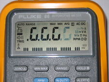 Fluke 88  86 + MAC Tools ET-88 + MD-88 Repair Kit for faded LCD Display Digits