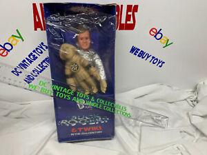 "Vintage 1981 Bendy Toys Buck Rogers 12"" Gil Gerard & Twiki original box Rare!!"