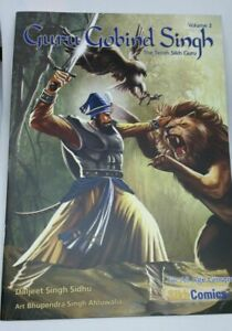 Sikh Kids Comic Guru Gobind Singh Ji by Daljeet Singh Sidhu in English Volume 2