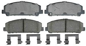 Disc Brake Pad Set-Ceramic Disc Brake Pad Front ACDelco Pro Brakes 17D1286CH