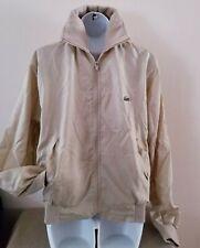 VINTAGE Men's IZOD Lacoste L/S Windbreaker Zip Jacket w/Pockets Sz S/M