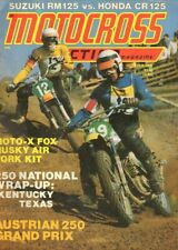 1975 October Motocross Action Motorcycle Magazine Back-Issue