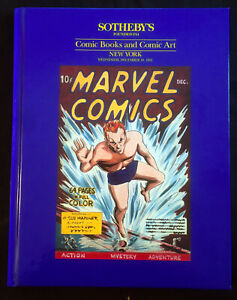 JERRY WEIST ESTATE: Sotheby's 1991 Comic Books & Comic Art HC Auction Catalog NR