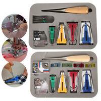 5/11PCS Bias Tape Maker Kit Set for Sewing Quilting Awl & Binder Foot Case Tools