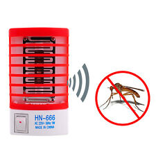Hot! Led Socket Electric Mosquito Fly Bug Insect Night Lamp Killer Zapper'