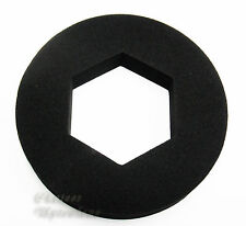 HEX FLAT FOAM LARGE DOUGHNUT SEAL WASHER FOR CONNECTING WC TOILET CISTERN