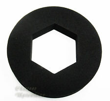 Hex Piatto Schiuma GRANDE CIAMBELLA sigillo rondella per il collegamento per cassetta WC