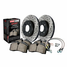 StopTech Disc Brake Pad and Rotor Sport Front for 2010 - 2015 Chevrolet Camaro