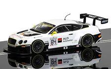 Scalextric C3714 Bentley GT3 Bentley Team HTP No.84, come nuovo inutilizzato